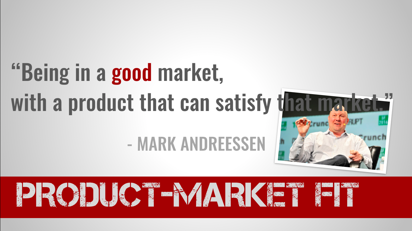 product market fit definition